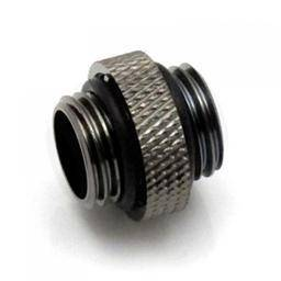 XSPC - 5mm Male to Male - G¼ - Black Chrome