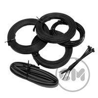 CableModders Sleeving Kit - Medium - Svart