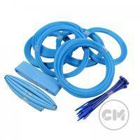CableModders Sleeving Kit - Medium - Aqua Blue