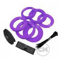 CableModders Sleeving Kit - Medium - UV Lila
