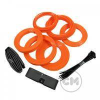 CableModders Sleeving Kit - Medium - UV Orange